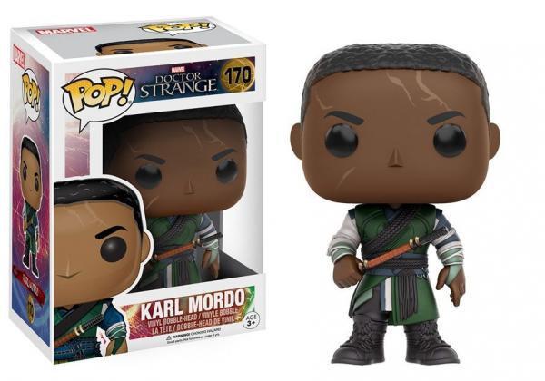 Pop! Marvel Doctor Strange Movie Vinyl Bobble-Head Karl Mordo #170 (Vaulted)