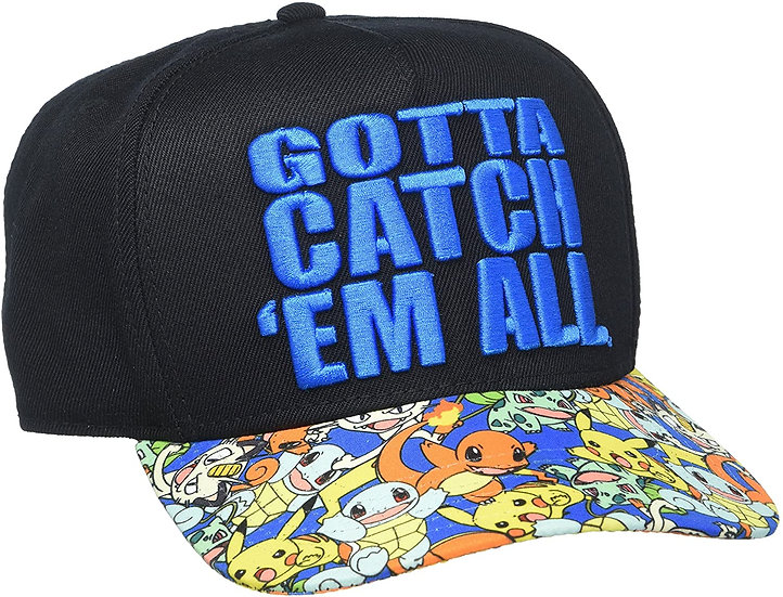 BioWorld Pokémon Gotta Catch 'Em All Snapback Hat