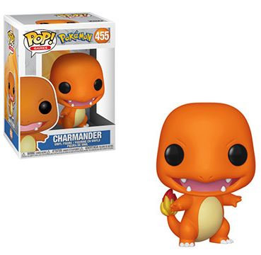 Pop! Games Pokemon Vinyl Figure Charmander #455