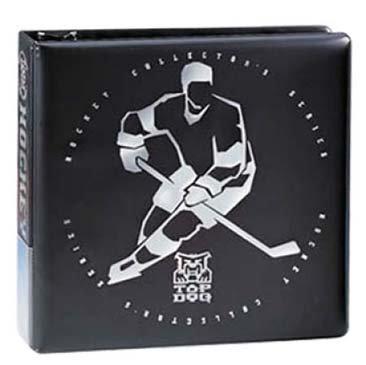 "Ultra Pro 3"" Top Dog Hockey Black Album"