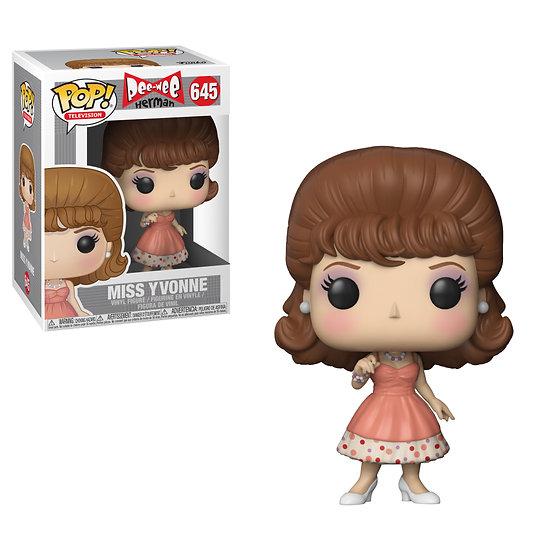 Pop! Television Pee-Wee's Playhouse Herman Miss Yvonne #645 (Box Damage)