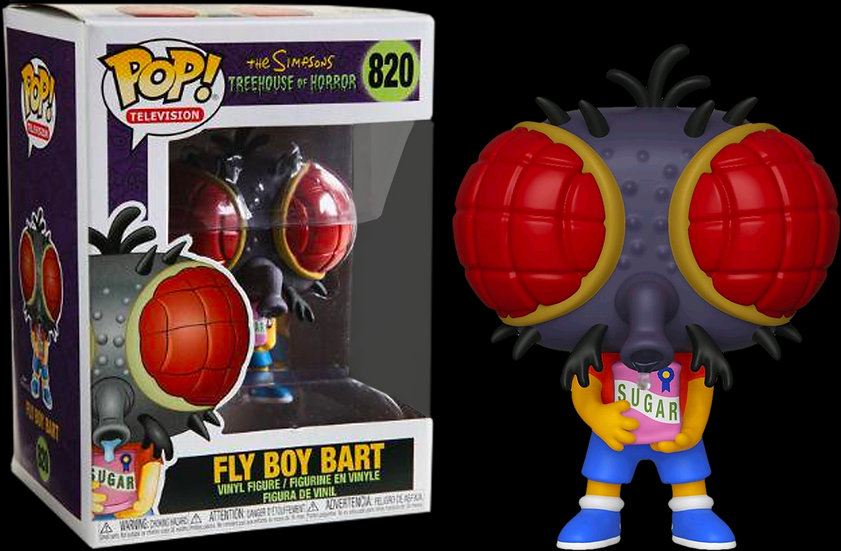 Pop! Television The Simpsons Treehouse of Horror Vinyl Figure Fly Boy Bart #820