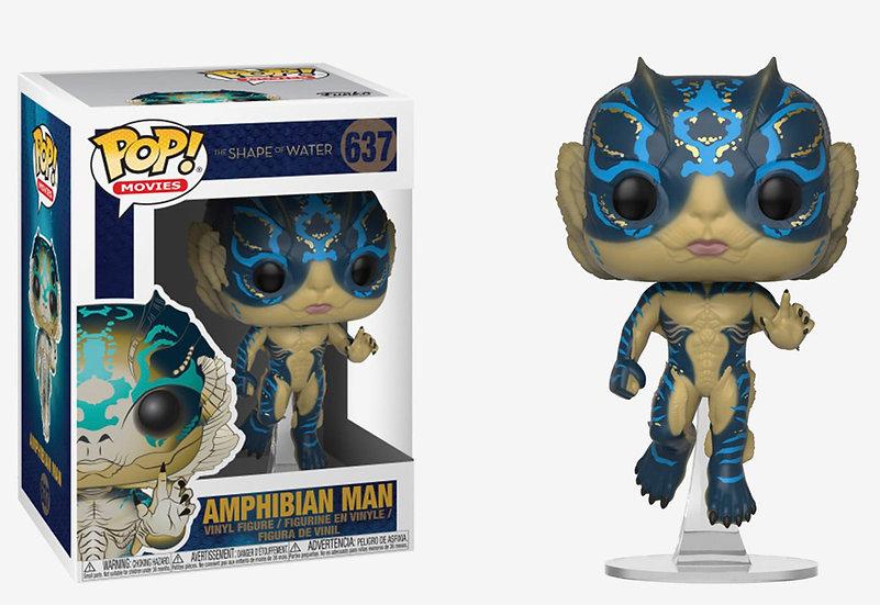 Pop! Movies The Shape of Water Vinyl Figure Amphibian Man #637