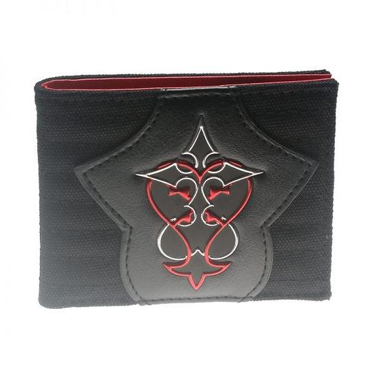 Bioworld Disney Kingdom Of Hearts Heart Logo Wallet