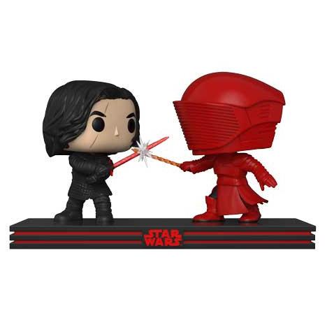 Pop! Movie Moments Star Wars Vinyl Bobble-Head Kylo Ren & Praetorian Guard #265
