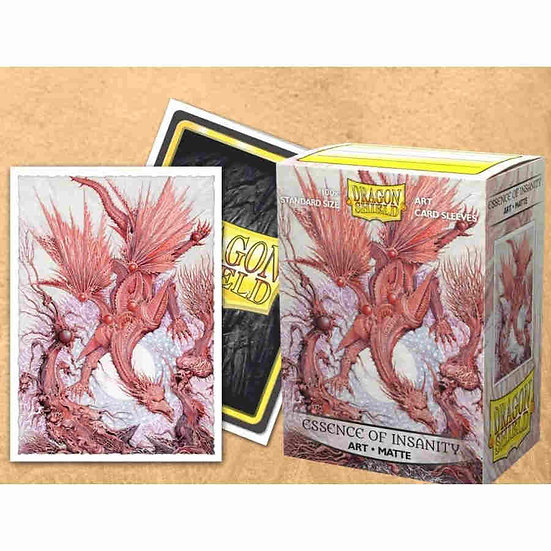 Dragon Shield - Matte Art Standard Size Sleeves 100pk - Essence of Insanity