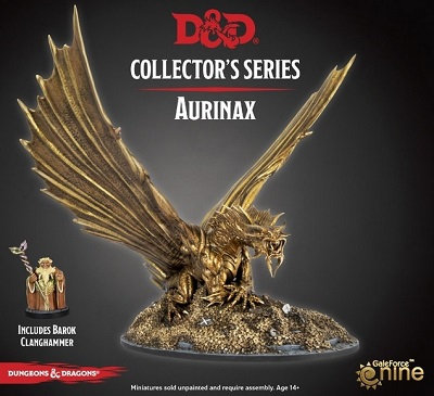 Dungeons & Dragons Collector's Series: Waterdeep Dragon Heist- Aurinax