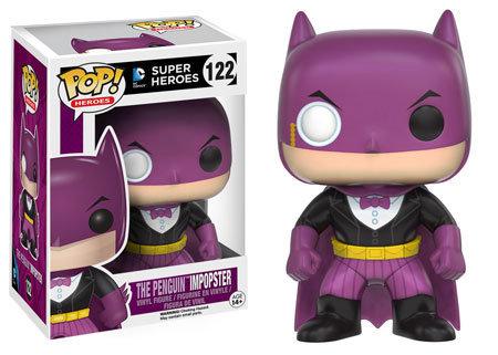 Pop! Heroes DC Impopster Vinyl Figure Batman as The Penguin #122