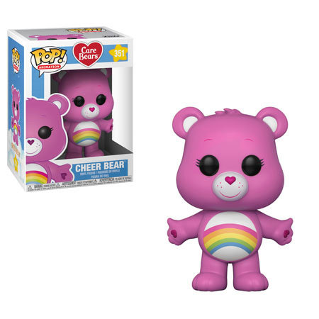 Pop! Animation Care Bears Vinyl Figure Cheer Bear #351