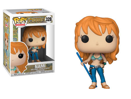 Pop! Animation One Piece Vinyl Figure Nami #328