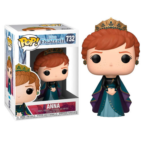 Pop! Disney Frozen II Vinyl Figure Anna #732