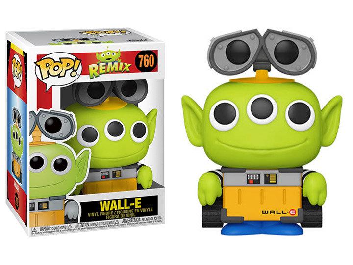 Pop! Disney Vinyl Figure Alien as Wall-E #760