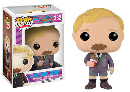 Pop! Movies Willy Wonka & The Chocolate Factory Augustus Gloop #332 Vaulted