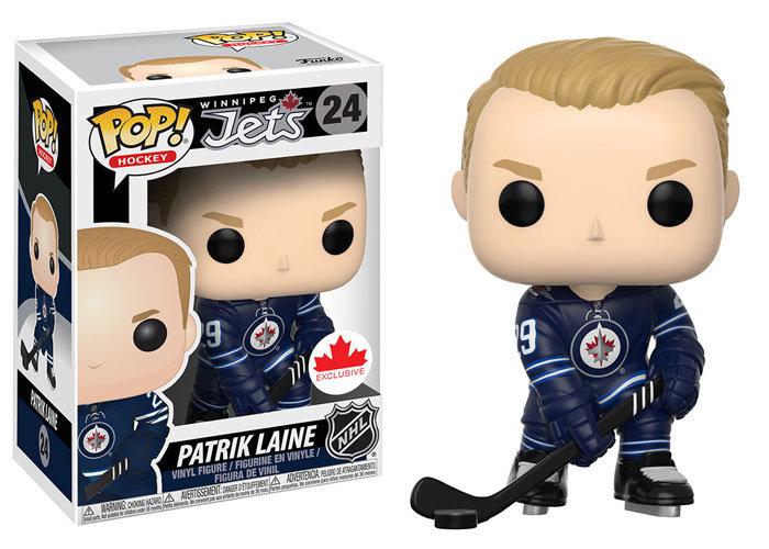 Pop! Hockey NHL Vinyl Figure Patrik Laine #24 (Winnipeg Jets) Exclusive