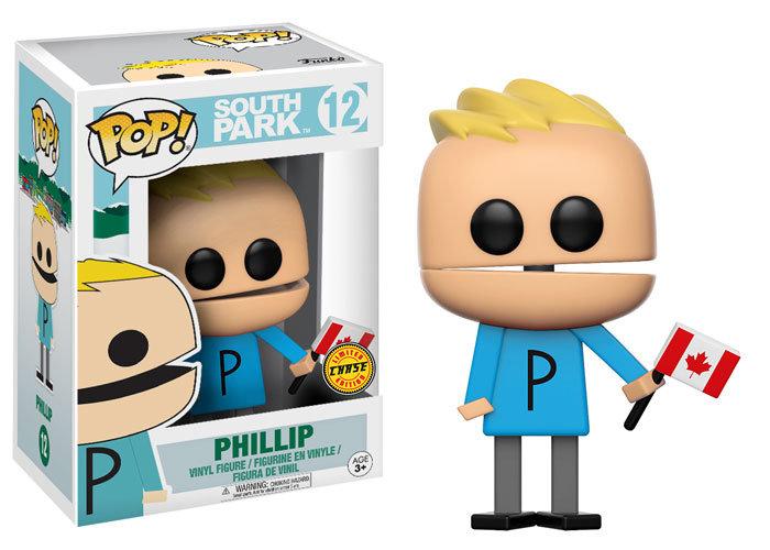 Funko Pop South Park Phillip Chase #12