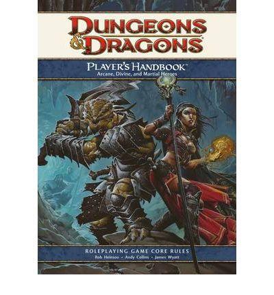 Dungeons & Dragons Player's Handbook: Arcane, Divine, & Martial Heroes
