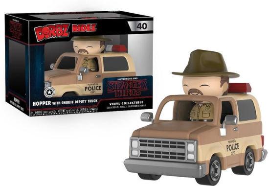 Dorbz Ride Stranger Things Hopper & Sheriff Deputy Truck #40