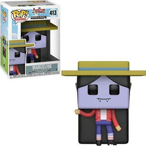 Funko Pop Animation  Adventure Time X Minecraft Marceline #413