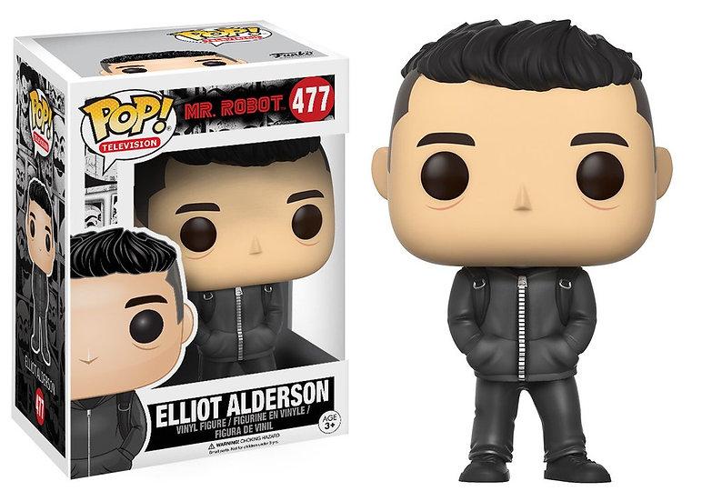Pop! Television Mr. Robot Vinyl Figure Elliot Alderson #477 (Vaulted)