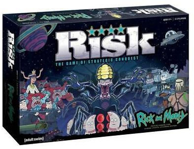 Risk Rick and Morty Edition Infinite Possibilities Adult Swim Game