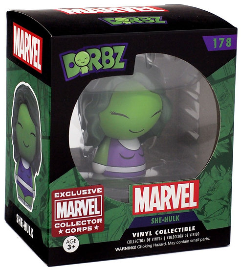 Dorbz Marvel She-Hulk Collector Corps Exclusive #178