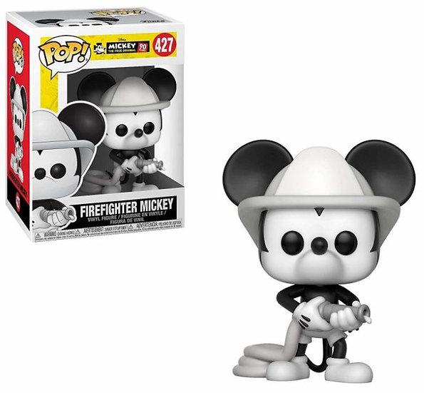 Funko - POP Disney: Mickey's 90th - Firefighter Mickey #427