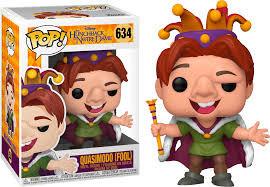 Pop! Disney Hunchback of Notre Dame Vinyl Figure Quasimodo (Fool) #634