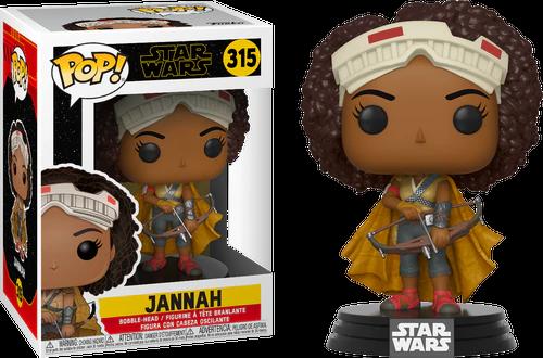 Pop! Star Wars The Rise of Skywalker Vinyl Bobble-Head Jannah #315