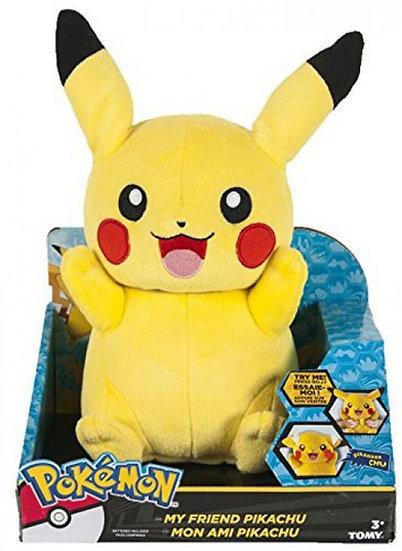 Pokemon My Friend Pikachu 10-Inch Talking Plush [Large Size]