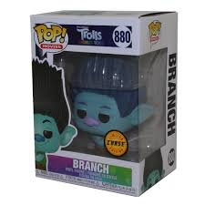 Pop! Movies Trolls World Tour Vinyl Figure Branch #880 Chase