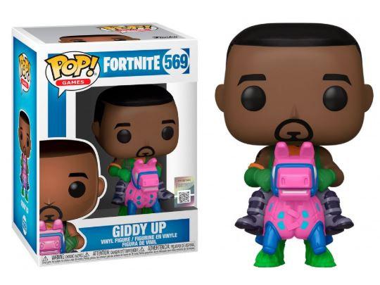Pop! Games Fortnite Vinyl Figure Giddy Up #569