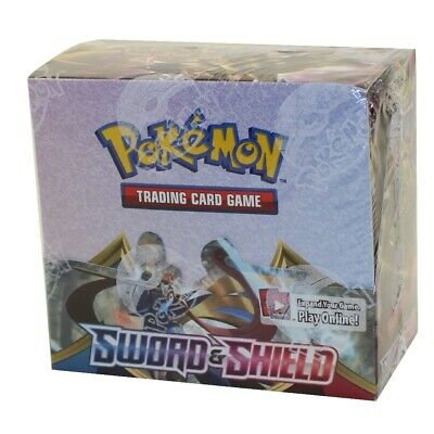 Pokemon Sword & Shield Booster Box 36 Packs