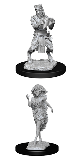 Dungeons & Dragons Nolzur's Marvelous Miniatures: SATYR AND DRYAD