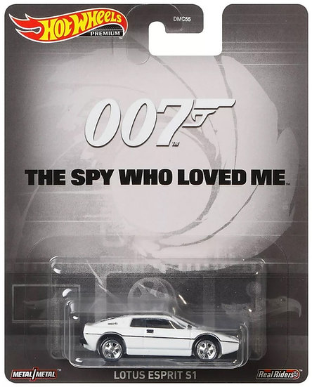 Hot Wheels Premium 007 Lotus Esprit S1 Die Cast Car The Spy Who Loved Me