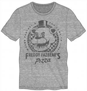 FIVE NIGHTS AT FREDDY'S- Fazbear Grey Tee