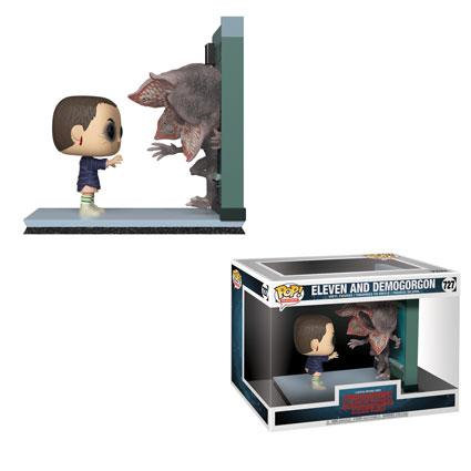 Pop! Television Moments Stranger Things Vinyl Figure Eleven and Demogorgon #727