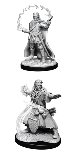 Dungeons & Dragons Nolzur's Marvelous Miniatures: MALE HUMAN WIZARD