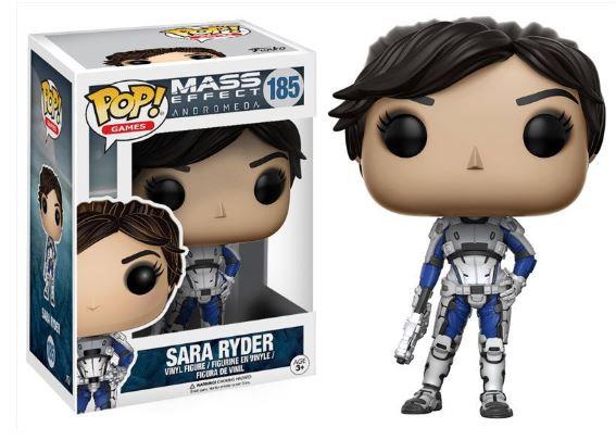 Pop! Games Mass Effect: Andromeda Vinyl Figure Sara Ryder #185 (Vaulted)