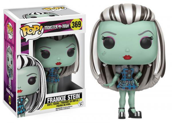 Pop! Movies Monster High Vinyl Figure Frankie Stein #369 (Vaulted)