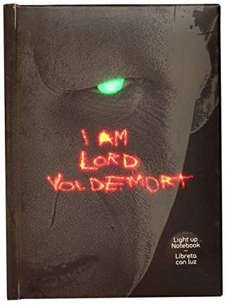 Notebook Harry Potter - Lord Voldemort Lumineux