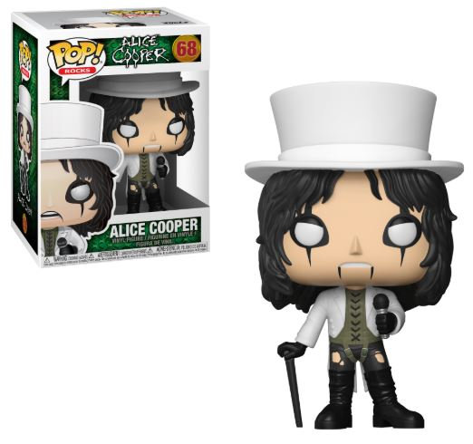 Pop! Rocks Alice Cooper Vinyl Figure Alice Cooper #68 (vaulted)