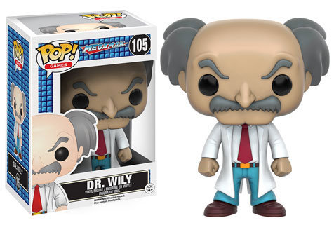 Pop! Games Mega Man Vinyl Figure Dr. Wily #105