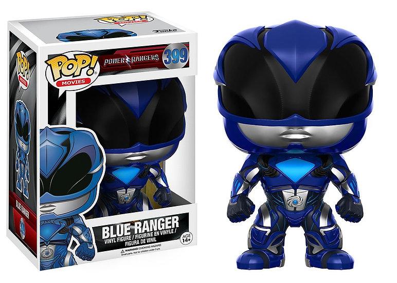 Pop! Movies Power Rangers Vinyl Figure Blue Ranger #399 (Vaulted)
