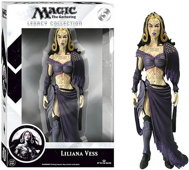 Funko MtG Legacy Collection Series 1 Liliana Vess Action Figure