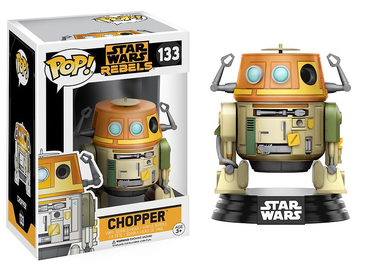 Pop! Star Wars Rebels Vinyl Bobble-Head Chopper #133 (Vaulted)