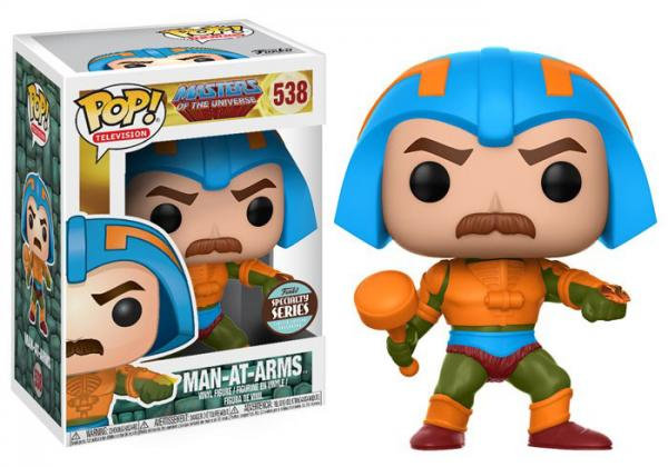 Pop! Television Masters of the Universe Vinyl Figure Man-At-Arms #538 Specialty