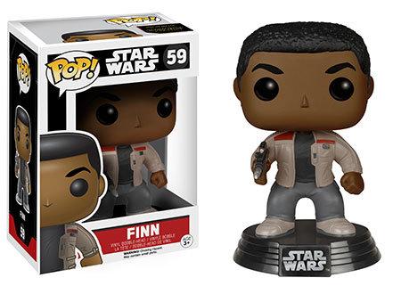 Pop! Star Wars The Force Awakens Vinyl Bobble-Head Finn #59 (Vaulted)