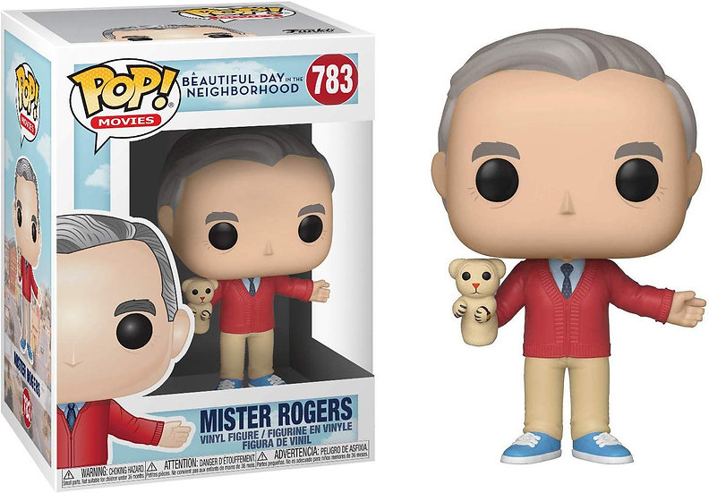 Pop! Movies A Beautiful Day in the Neighborhood Vinyl Figure Mister Rogers #783