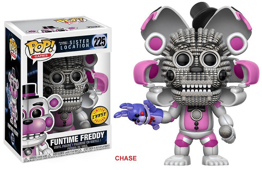 Pop! Games Five Nights at Freddy's Sister Location Funtime Freddy #225 (Chase)
