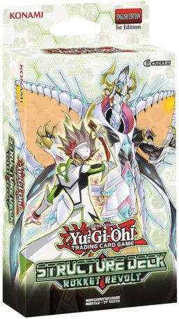 YuGiOh Trading Card Game Structure Deck: Rokket Revolt
